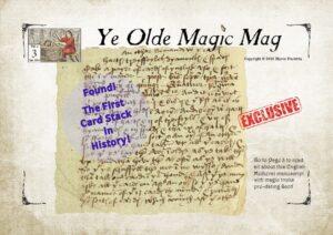 Ye Olde Magic Mag Vol 02 issue 03 medieval magic manuscript, magic auctions,david copperfield